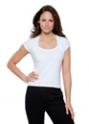 Top femme Corporate Top Scoop Neck Cap Sleeve KUSTOM KIT